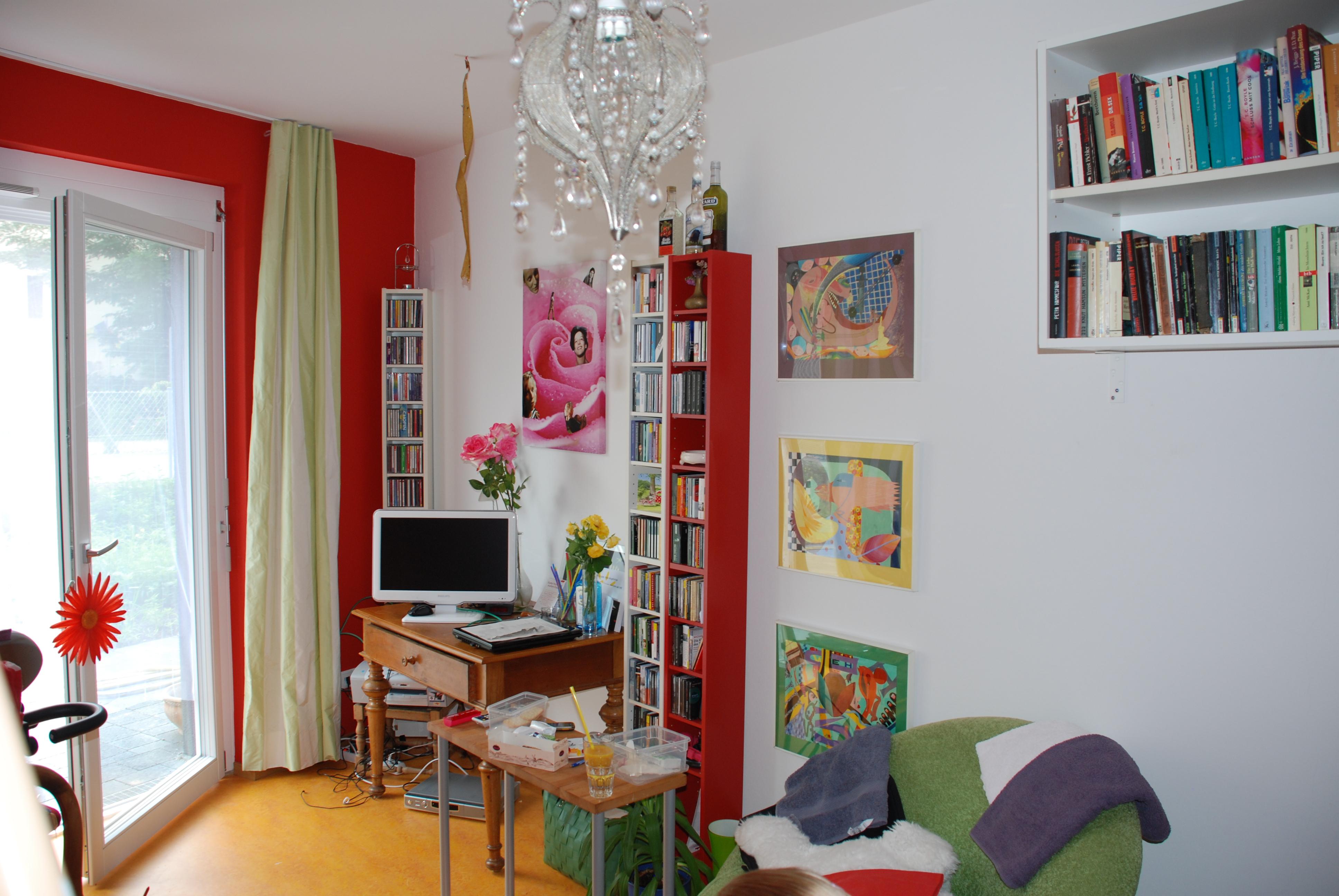 Beispiel für ein eingerichtetes Einzelzimmer